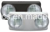Rotación de doble cabeza UL LED de luz de emergencia