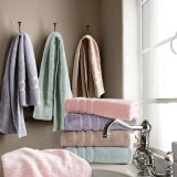 Voer de Reeksen van de Handdoek van de Vezel van het Bamboe van Verenigde Staten Dikke Volwassen/Twee Reeksen uit