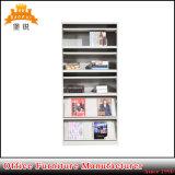 Полка шкафа металла индикации кассеты стойки книг мебели Kd стальная