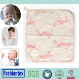 Panno di fronte su ordinazione del bambino della stampa del cotone del commercio all'ingrosso di cura di pelle