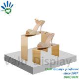MetallEdelstahl-Fenster-Standplatz für Schuhe