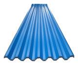 Folha de telhas de aço galvanizado com cor RAL