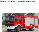 Otturatore di alluminio d'argento del rullo del camion dei vigili del fuoco