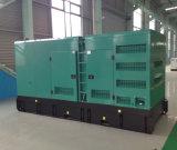 Ce, ISO одобрил генератор 50Hz 400kw/500kVA Cummins для сбывания (KTA19-G4)