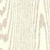 光沢のある黒く白い木製のドアPVCホイル