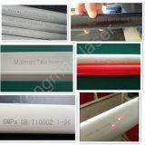 30W de Laser die van de vezel voor PP/PVC/PE/HDPE Plastic Pijp, niet het Metaal van de Montage merken
