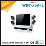 kit caliente de la seguridad NVR de los kits de 4CH HD NVR (WS-NVK-802)