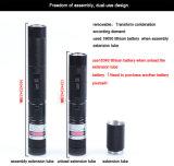 5000m de larga distancia de funcionamiento del láser UV Linterna Verde Linterna Power Style