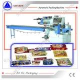 Horizontaler Typ Hamburg-Biskuit-Brot-automatische Verpackungsmaschine SWA-450