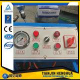 신속 변경 공구를 가진 사용된 유압 호스 주름을 잡는 기계