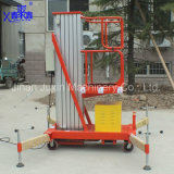6-14m 100kg Custom Made Single Mast Indoor Hydraulic Aluminum Mobile Man Lift with Factory Direct Sale Price