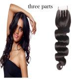 Toupee di bellezza di colore del corpo dell'onda di Remy delle donne naturali professionali dei capelli umani