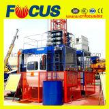 Cage simple d'élévateur de construction de la commande automatique Sc120
