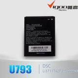 Первоначально батарея мобильного телефона батареи 3.7V качества для Zte