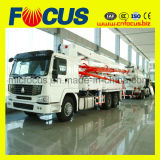 caminhão da bomba concreta do crescimento de 37m 39m com o chassi de HOWO/Isuzu