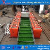 Mini barco de la recuperación del oro en Keda