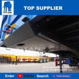 Titan conteneur Tri-Axle 40 pieds semi-remorque Remorque avec Headbulk à plat
