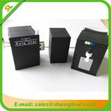 선전용 선물 유행 주문을 받아서 만들어진 고무 USB 섬광 드라이브 (SLF-RU021)