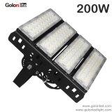 130lm/W 3030 SMD LED regulável de luz de inundação para ambientes de futebol de tênis de basquete Stadium