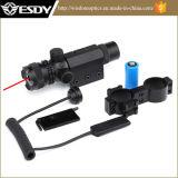 Schiene roter PUNKT Laser-Infrarotanblick des Jagd-Gewehr-Bereich-20mm