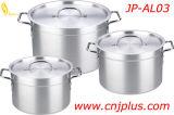 6pzas establecer Jp-Al03 parte más gruesa la olla de aluminio