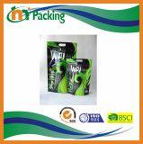 Мешок упаковки еды изготовленный на заказ печатание пластичный раговорного жанра с застежкой -молнией