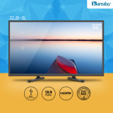 "32 ""LED TV Flat-Screen Noir, Blanc ou Or Shell 32jd-5L"