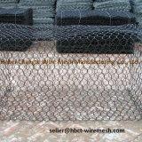 Pesadamente gaiolas galvanizadas zinco do engranzamento de fio de Gabion para rochas