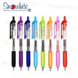 Logotipo personalizado un bolígrafo de plástico G101 con surtido 8 colores.