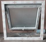 Markisen-Fenster der preiswerte Preis-kleines Größen-UPVC mit Frost-Glas