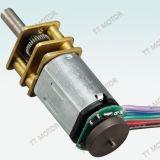 поставщик Китая мотора шестерни DC rpm высокого вращающего момента 6V 12V низкий