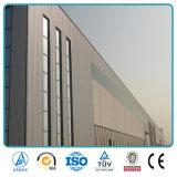 Estructura de acero de la alta subida ligera con el edificio de oficinas de cristal de la pared de cortina