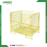Aço de armazenamento da gaiola Palete de malha de arame empilháveis Recipiente da gaiola