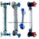 Quartos de galão de vidro indicador do nível do Tubo Sensor Meter-Level Nível