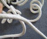 Corda rotonda materiale della fibra di ceramica dell'isolamento termico