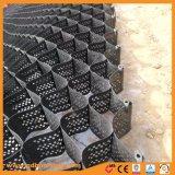 O uso de construção de HDPE Geoweb Geocell