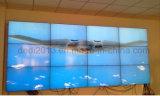 L'encadrement 3.9mm d'étroit de large écran de Shenzhen 55inch ultra a fait l'épissure sans joint annonçant l'étalage