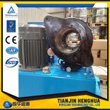 A maquinaria de friso da mangueira hidráulica de China Techmaflex faz à máquina preços para a venda