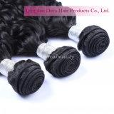 Weave brasileiro superior do cabelo da onda de oceano da venda por atacado do cabelo do Virgin