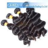 cabelo não processado cru dos bens de Remy do Virgin do cabelo 3A indiano