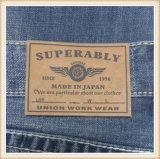 Contrassegni impressi del cuoio dell'unità di elaborazione dell'indumento per i jeans