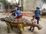 Estatua de dinosaurios decorativo modelo de parque de dinosaurios