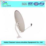 Напольное спутниковое телевидение Receiver тарелки антенны Ku Band 75cm