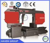 GW4230水平のタイプ油圧バンド鋸引き機械