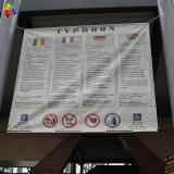Personnalisé Digital Printing Adversiting Vinyl Banner avec oeillets