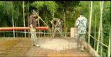 Bomba de concreto elétrico com misturador