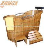 Vasca da bagno della STAZIONE TERMALE di alta qualità/vasca da bagno di legno/vasca da bagno Cx-BS02 Apa della stanza da bagno