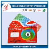Contact sec de puce d'IDENTIFICATION RF en plastique/approvisionnement sans contact de carte d'IC