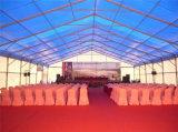Шатер свадебного банкета шатра случая белой крыши PVC роскошный напольный для сбывания
