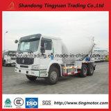 Caminhão do misturador concreto de HOWO com o motor Diesel do cavalo-força 371